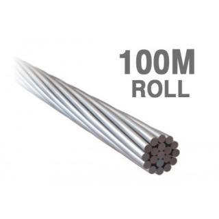 W03.2119-100 - ProRig 3.2mm Wire Rope 1 x 19 316G Stainless 100 metre rolls