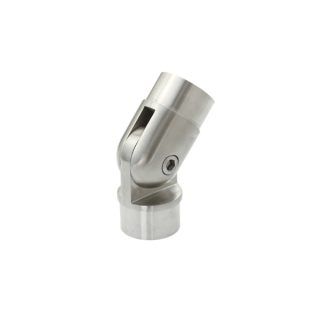 P5010-16SF - ProRail 50.8 x 1.6mm Adjustable Connector Satin Finish 316 Grade Stainless Steel