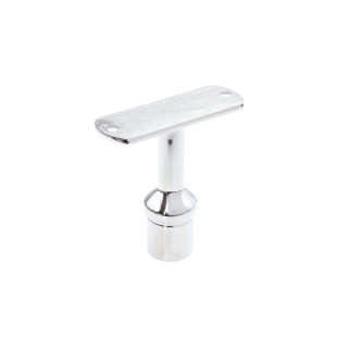 P5026F-16MP - ProRail 25.4 x 1.6mm Fixed Saddle - Suits Flat Handrail Mirror Polish 316 Grade Stainless Steel