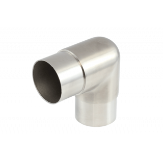 P5055-16SF - ProRail 50.8 x 1.6mm Flush Elbow 90° Satin Finish 316 Grade Stainless Steel