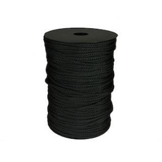 VB Cord 4mm 100m Roll Black